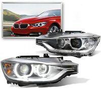 HEADLIGHTS BMW 3 SERIES F30 F31 2011-2015 H7 LED PROJECTOR XENON LOOK RHD LAMPS