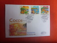 1997 COCOS KEELING ISLAND FESTIVE SEASON ALPHA  FDC