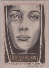 "Lord of the Rings Masterpieces II - Steve Oatney ""Arwen"" Sketch Card"
