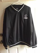 Men's Nylon Golf Windbreaker Pullover- Lg