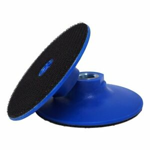 "4"" Plastic Backer Pad for Polishing Pads (Used by Angle Grinder, Air Polisher)"