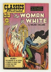 Classics Illustrated 061 The Woman in White 1B GD 2.0 1949