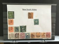 Australia New South Wales used   stamps R33258