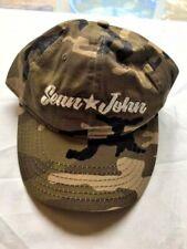 Sean John Men's Camo Logo Cap O/S