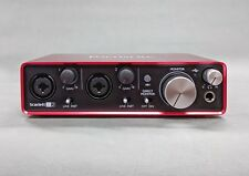 Focusrite Scarlett 2i2 USB Audio Interface 2nd Gen. -- gebraucht/used
