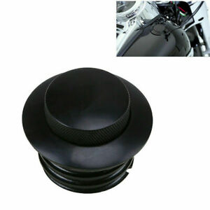 Screw In Flush Mount Pop Up Gas Tank Cap Vented for Harley Softail Sportster 883