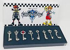 Disney Kingdom Hearts II Blade Key Box Pendant Set