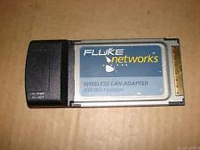 Fluke 802.11 A B G N Cardbus Wireless LAN Adapter Fo WiFi AirMagnet Analyzer PRO