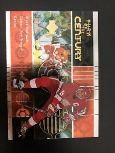 Steve Yzerman 1999-00 Upper Deck Retro Turn of the Century #TC5