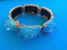 Vintage Bracelet Email Emaux d'Art LIMOGES par GRELET / Enamel Bracelet