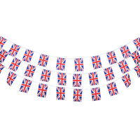 10 Metre of UNION JACK BANNER NATIONAL BUNTING BRITISH GB FLAG STRING DECOR