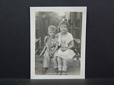 Vintage photo, Children, Early 20th Century, #11 Boy and Girl on Bench