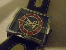 D&G Dolce&Gabbana Time Mens Black/Silver/Red Fancy Watch