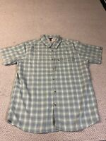 Mens The North Face Short Sleeve Button Front Shirt Size XL