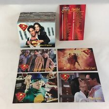 LOIS & CLARK: ADVENTURES OF SUPERMAN TV SHOW (1995) Complete Trading Card Set