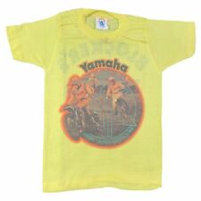 "Vintage Kid's Yamaha ""For Those Who Like To Win"" T-Shirt Sz S Biking Ducati Race"
