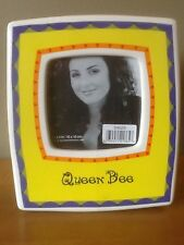 Photo Quips Picture Frame 4 x 4 Queen Bee