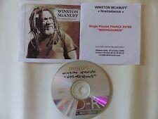 CDr single Promo WINSTON MCANUFF Nostradamus Playlist France Inter