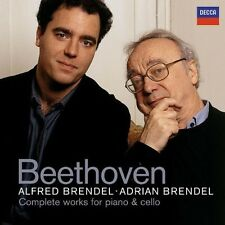 Alfred Brendel, Ludw - Beethoven: Complete Works for Piano & Cello [New CD]