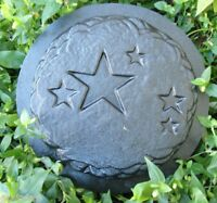 Star plaque MOLD plaster concrete stepping stone plastic mould