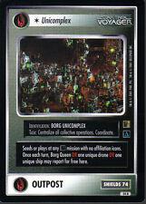 STAR TREK CCG THE BORG RARE CARD UNICOMPLEX