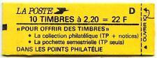 CARNET 10 T 2,20 Rge : Pochette SEMESTRIELLE  D 8 L45C