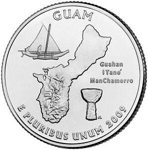 2009-D GUAM TERRITORIAL QUARTER~FREE SHIPPING~~SUPER~~