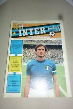 INTER FOOTBALL CLUB N 5 1976 - Buono  FACCHETTI - BORDON - ANASTASI