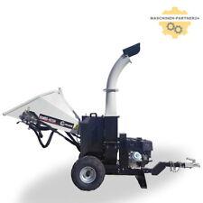 Lumag Rambo HC15H Holzhäcksler Schredder Benzin Motorhäcksler mit Einzugswalze!