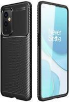 For OnePlus 9 Pro 5G Case, Slim Armor Black Carbon Fibre Shockproof Phone Cover