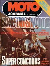 MOTO JOURNAL  256 HONDA CB 750 A Automatique CJ 360 125 CR ROKON Bultaco 250