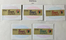 TONGA  Very  Nice  Mint  Hinged  Older  Collection 12  Pages  AG