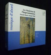 I musicisti di l'impressionnisme. French music intorno a 1900 (coffret 3 CD)