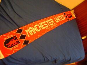 Manchester United scarf vintage 80'