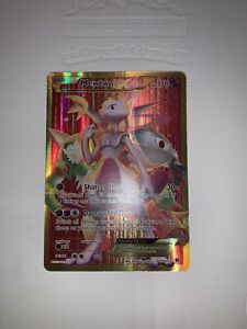 Mewtwo EX Full Art Secret Rare 164/162