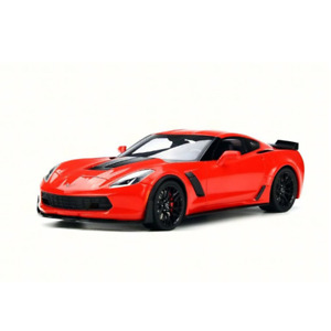 GT Spirit – 1/18 Scale – US Exclusive – 2017 Chevrolet Corvette Z06 in Torch Red