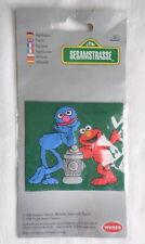 Vintage Jim Henson Patch Sesamstrasse Sesame Street Muppets Grover Elmo Germany