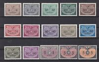 GERMANY 1940 GENERAL GOVERNMENT, Mi# 1-15, CV 60€, MNH