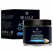 Teeth Whitening Activated Charcoal Powder - From Organic Coconut Shell and Food