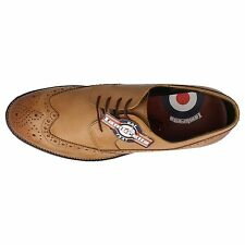 Mens Lambretta Brogue Shoes The Style M-82 -w 10 UK Suede Brown Standard