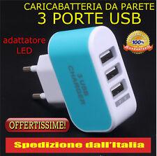 Caricatore da Muro USB Caricabatterie a parete Per iPhone Samsung LG ipad HTC