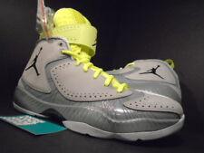 Nike Air Jordan 2012 WOLF GREY BLACK SILVER ICE WHITE VOLT NEON 484654-001 10.5