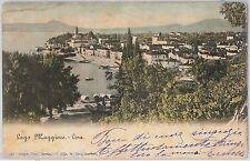 55831 -- CARTOLINA d'Epoca - LAGO MAGGIORE:  Lesa  1904