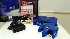 Nintendo 64 Midnight Blue Console N64 System Japan Excellent FOR COLLECTION