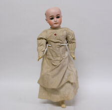 Antique Bisque Head Character Doll (1902 - 4)