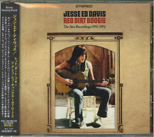 JESSE ED DAVIS-RED DIRT BOOGIE - THE ATCO RECORDINGS 1970°72-IMPORT CD G22