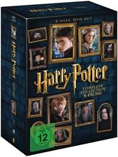 Harry Potter - The Complete Collection (8 Filme, 8 DVDs) | DVD | deutsch | NEU
