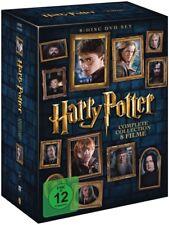 Harry Potter - The Complete Collection (8 Filme, 8 DVDs) | deutsch | NEU | 2016