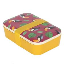 Toucan Bamboo Lunch Box - Brand New
