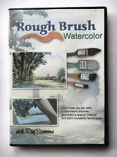 ROUGH BRUSH WATERCOLOR -  - TECHNIQUE AQUARELLE - DVD - PAR  ROY SIMMONS